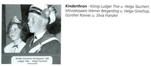 Kinderkönig 1965/66