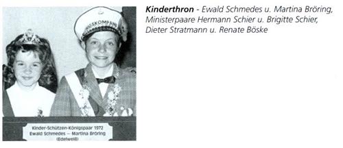 Kinderkönig 1972/73