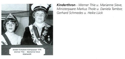 Kinderkönig 1976/77