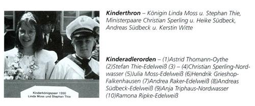 Kinderkönig 1990/91