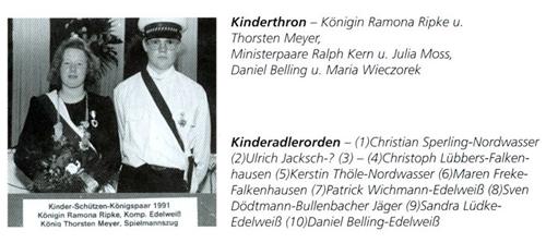 Kinderkönig 1991/92